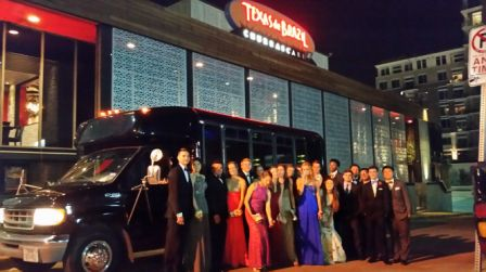 dallas texas party bus rental