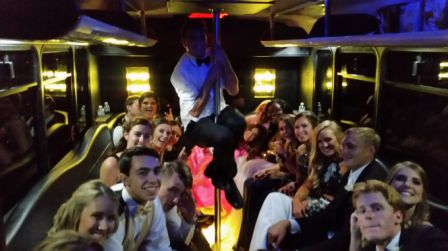 dallas party bus rental